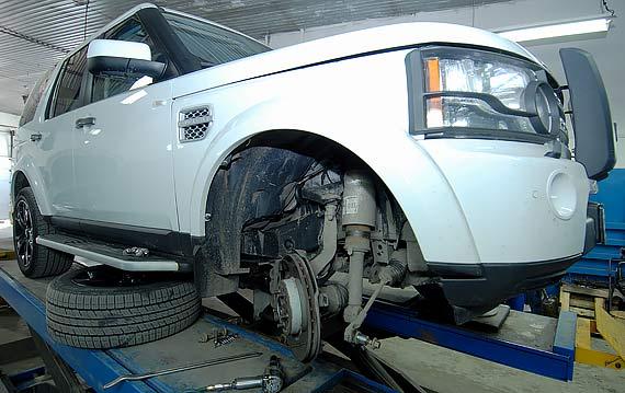 Ремонт подвески Land Rover и Range Rover